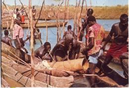 Puzzle Tchad - Pêcheurs De Logone Gana - Puzzle - Edité Par Air Afrique - Vieux Papiers
