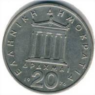 Griechenland - 20 Drachmen 1978 - KM 120 - Vz - Griechenland