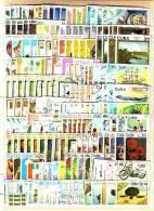 CUBA  200 Timbres Commémoratifs Tous Différents – Oblitérés (O) - Timbres