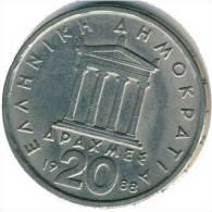 Griechenland - 20 Drachmen 1986 - KM 133 - Vz - Griechenland