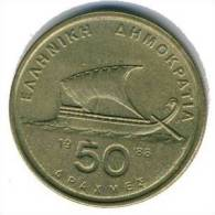 Griechenland - 50 Drachmen 1988 - KM 147 - Vz+ - Griechenland