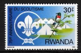RWANDA - 1983 YT 1082 * SCOUT - Rwanda