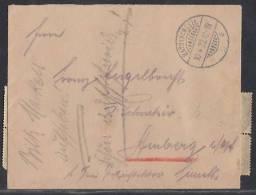 DR Brief Mif Minr.10x 160,2x 161 Bayrischzell 10.4.22 - Briefe U. Dokumente