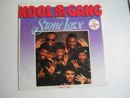 "MAXI - KOOL & THE GANG  - MERCURY 888380  "" STONE LOVE "" + 2 - 45 T - Maxi-Single"