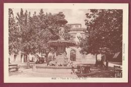 34 - 020313 - MEZE - Place De L'hôtel De Ville - - Otros Municipios