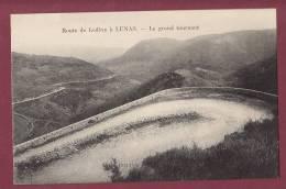 34 - 020313 - Route De Lodève à LUNAS - Le Grand Tournant - - Otros Municipios