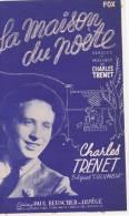 La Maison Du Poète  (Charles TRENET) - Partitions Musicales Anciennes