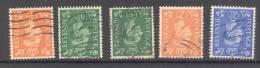 GB, 1930s Etc 5 Stamps With Wmk Inverted Fine FU - 1902-1951 (Koningen)