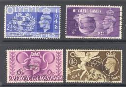 GB, 1948 Olympic Games Set FU - 1902-1951 (Koningen)