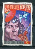 Guinée Equatoriale 1974 - Poste Aérienne YT 26 (o) - Nicolas Copernic - Guinée Equatoriale