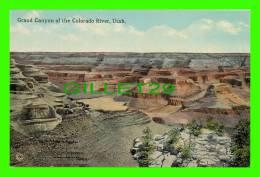 GRAND CANYON, UTAH - GRAND CANYON OF THE COLORADO RIVER - PUB. BY SOUVENIR NOVELTY CO -