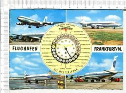 FLUGHAFEN - FRANKFURT / M.  -  5 Vues - Aérodromes