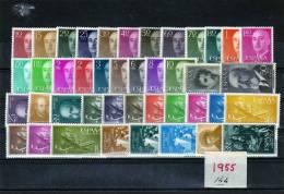 ESPAÑA-Año 1955 Nuevo Completo Según Foto - España