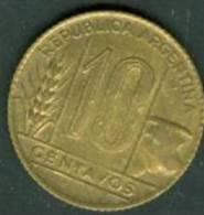 ARGENTINE : 10 CENTAVOS 1949  - Pieb 5002 - Argentine