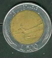 Italie - 500 Lire 1984 - Pieb 5103 - 1946-…: Republik