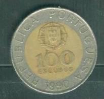 Portugal - 100 Escudos 1990 - Pieb 5109 - Portugal