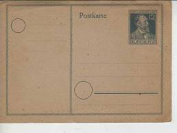 POSTKARTE HEINR STEPHAN  1897   OHL - Ganzsachen