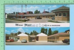 Trois-Rivieres Quebec( Miami Motel Cap De La Madeleine Multivues ) 2 Scans - Trois-Rivières