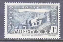 Andorra  23  * - Unused Stamps