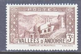 Andorra  25  * - Unused Stamps