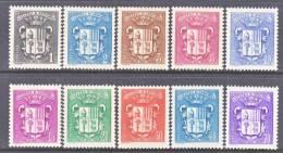 Andorra  65+  * - Unused Stamps