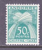 Andorra  J 23  * - Postage Due