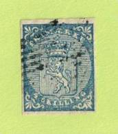 NOR SC #1  1855 Coat Of Arms  4 Margins, CV $175.00 - Used Stamps