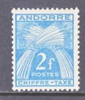 Andorra  J 26  * - Postage Due