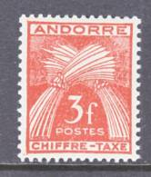 Andorra  J 27  * - Postage Due