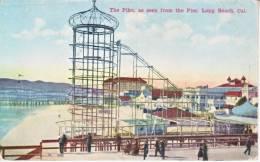 Long Beach   THE  PIKE  *  1910's - Long Beach