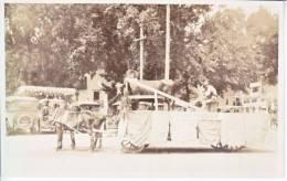 Pasadena  ROSE  PARADE  PHOTO  1910's  *  FARMER's  FLOAT - Los Angeles
