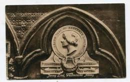 ENGLAND - AK 147844 London - Westminster Abbey - Jenny Lind - Westminster Abbey