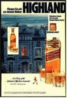 Reklame Werbeanzeige  ,  Johnnie Walker  -  Der Tag Geht ... Johnnie Walker Kommt  ,  Von 1973 - Andere Sammlungen