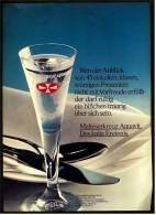 Reklame Werbeanzeige  ,  Malteser Aquavit  -  Das Kalte Ereignis  ,  Von 1975 - Andere Sammlungen