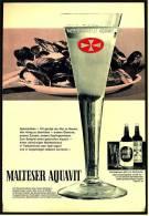 Reklame Werbeanzeige  ,  Malteser Aquavit  -  Oft Genügt Der Mut Zu Neuem  ,  Von 1971 - Andere Sammlungen