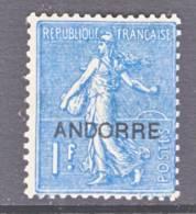 Andorra  16  * - Unused Stamps
