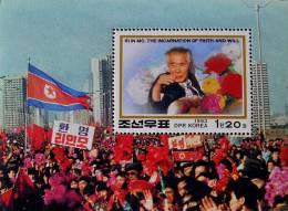 HOMMAGE A RI IN MO 1993 - NEUF ** - YT BL 131 - MI BL 284 - Corea Del Nord
