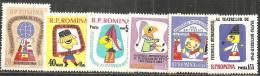 Romania 1960 Nuovo** - Mi.1907/12  Yv.1733/38 - 1948-.... Repubbliche