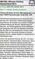 MICHEL Deutschland Münzen 2013 Neu 25€ Ab Jahr 1871 Reich BRD Berlin DDR Für Numismatik Coin Catalogue 978-3-95402-048-5 - Bronzen