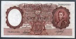 - 100 PESOS - 1953 - Série A (Bottero - B2043 *** AUNC *** N° 78.462.624A * RARE * - Argentina