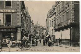 La Rue Carnot Et L´hôtel De L´Europe. - Morlaix