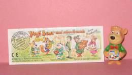 1996 Kinder Allemand Yogi Bear Und Seine Freunde Beim Picknick 657255 +BPZ - Inzetting