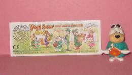 1996 Kinder Allemand Yogi Bear Und Seine Freunde Beim Picknick 657387 +BPZ - Inzetting