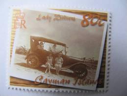 2-1537 Car Voiture Tacot Lady Vacances Tourisme Plage - Coches