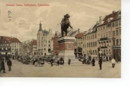 Absalons Statue Hojbroplads Kjobenhavn Copenhague 1908 - Danemark