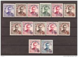 ESBE19-L3928TCO.Spain Espagne BENEFICENCIA ESPAÑOLA. J.A.PRIMO DE RIBERA.1938 (Ed NE19/NE31**).sin Charnela LUJO RARA - Celebridades