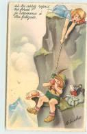 BIBICHE  - As-tu Assez Repris Les Forces? - Cartes Humoristiques