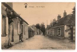 Arnage-rue De L église - France