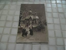 CPA Joyeux Noël De 1912 - Christmas