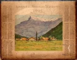 Calendrier PTT 1926 - Kalenders